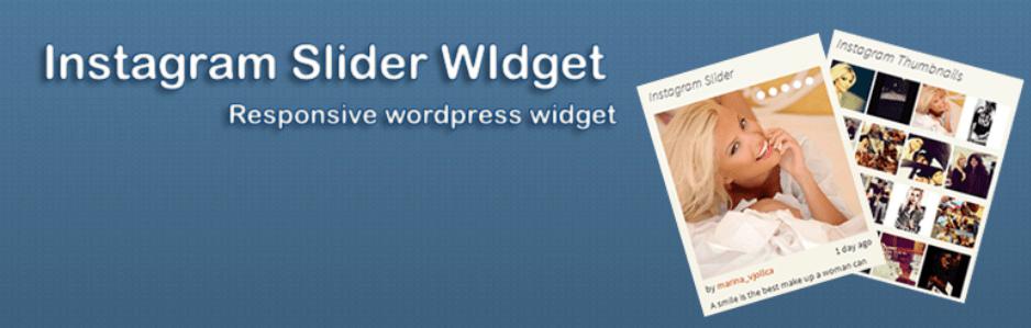 wordpress eklentisi instagram slider widget