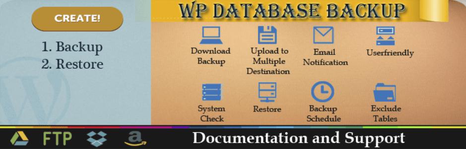 wordpress eklentisi wp database backup
