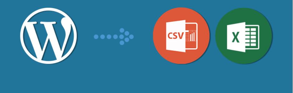 wordpress eklentisi simple csv xls exporter