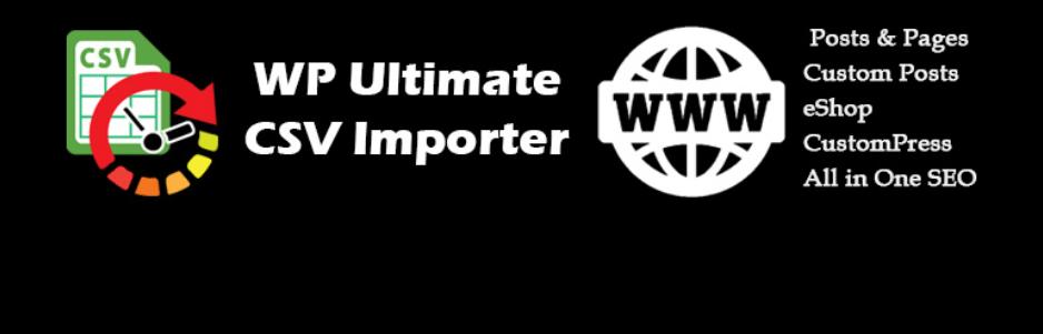 wordpress eklentisi wp ultimate csv importer