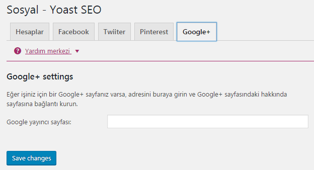 yoast seo sosyal google plus ayarlari