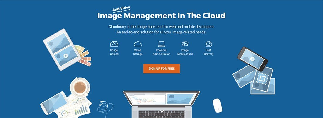 Cloudinary resim servisi