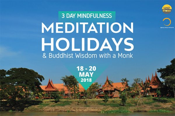 3-day mindfulness & meditation holidays and Buddhist wisdom with a monk