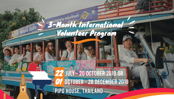 Join 3-Month International Volunteer Program in Thailand!