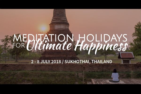 Join a Meditation Holiday retreat in Thailand!