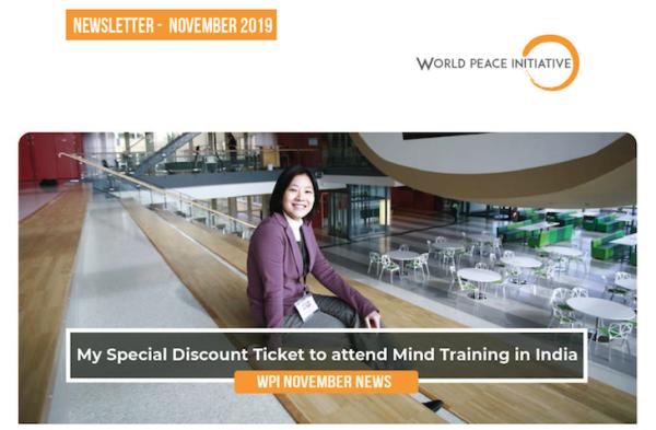 WPI Newsletters: November 2019