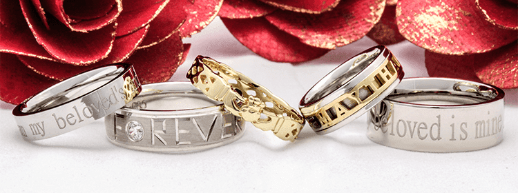 PERSONALIZED WEDDING BANDS