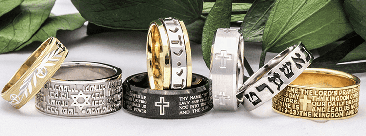 SPIRITUAL WEDDING BANDS