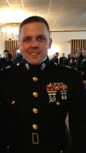 Chief Warrant Officer, Michael Reiser in uniform