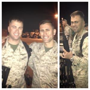 Steven Weber in Army uniform