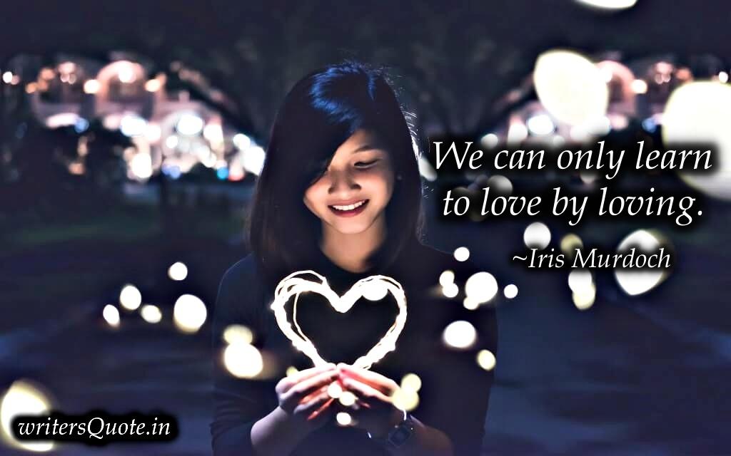 girl with lighting heart
