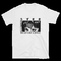 Uzumaki - Head Like A Hole - White – Super Unofficial