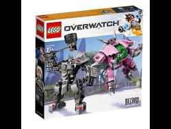 D.Va & Reinhardt - 75973 | Overwatch | LEGO Shop