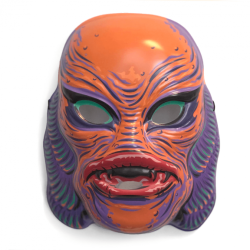 Universal Monsters Mask - Creature from The Black Lagoon (Orange)