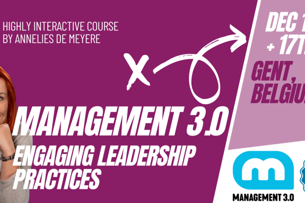 Management 3.0: How Can You Build Motivated, Self-Organizing Teams That Thrive Under Change?