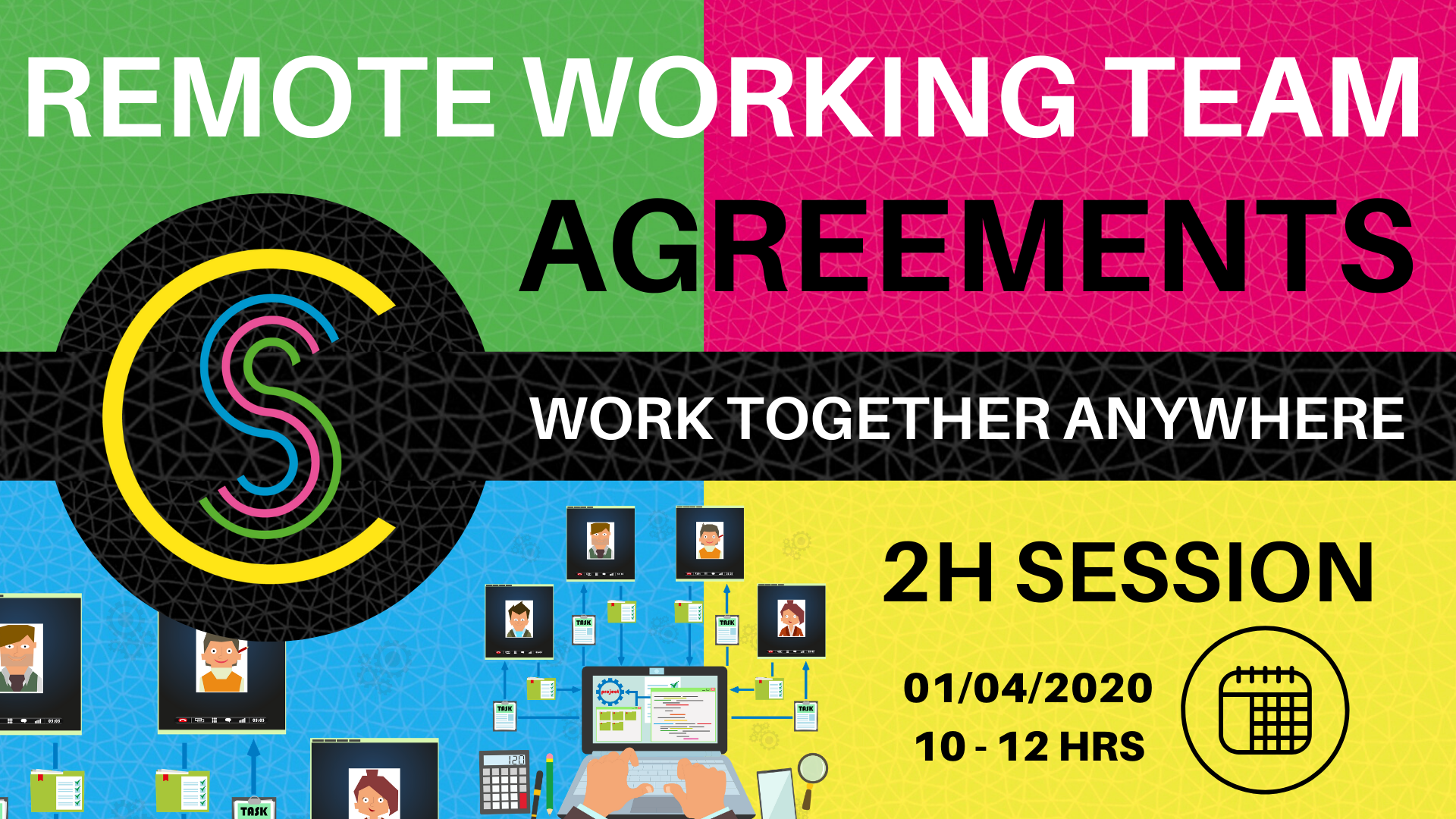 Remote Working Team Agreements (2h Online Session)