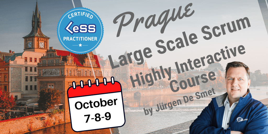 Certified Large-Scale Scrum (LeSS) Practitioner - Prague, Czech Republic