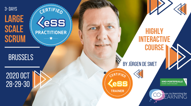 Certified Large-Scale Scrum (LeSS) Practitioner - Brussels Belgium