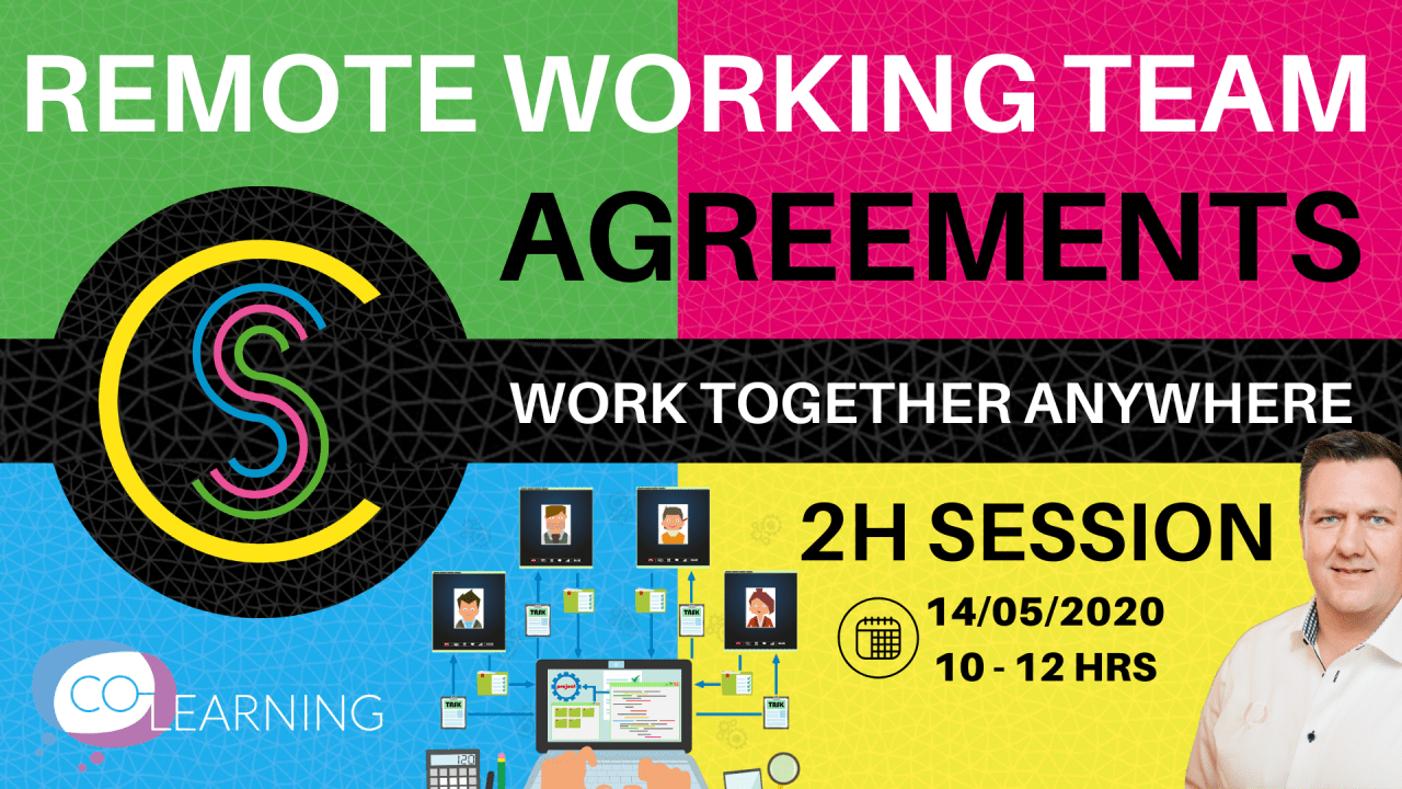 Work Together Anywhere Workshop - Remote Teams (four 2h Online Sessions)