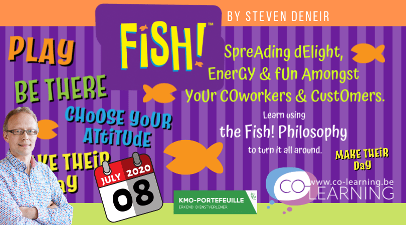 Fish! - spreading delight, energy and fun amongst your coworkers and customers.