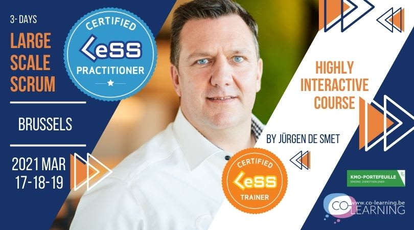 Certified Large-Scale Scrum (LeSS) Practitioner - Brussels, Belgium