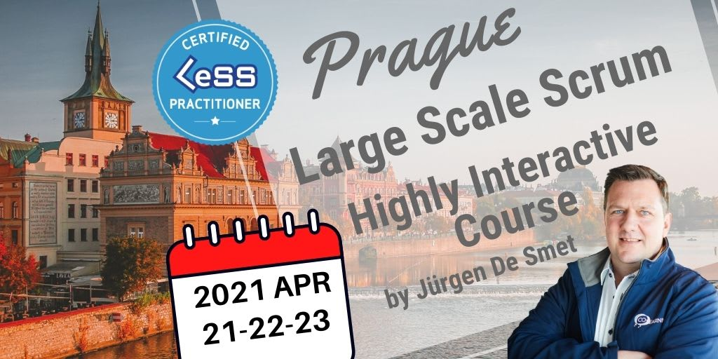 Certified Large-Scale Scrum (LeSS) Practitioner - Prague - CZ