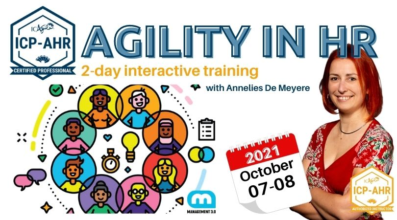 Agility in HR (ICP-AHR) by Management 3.0