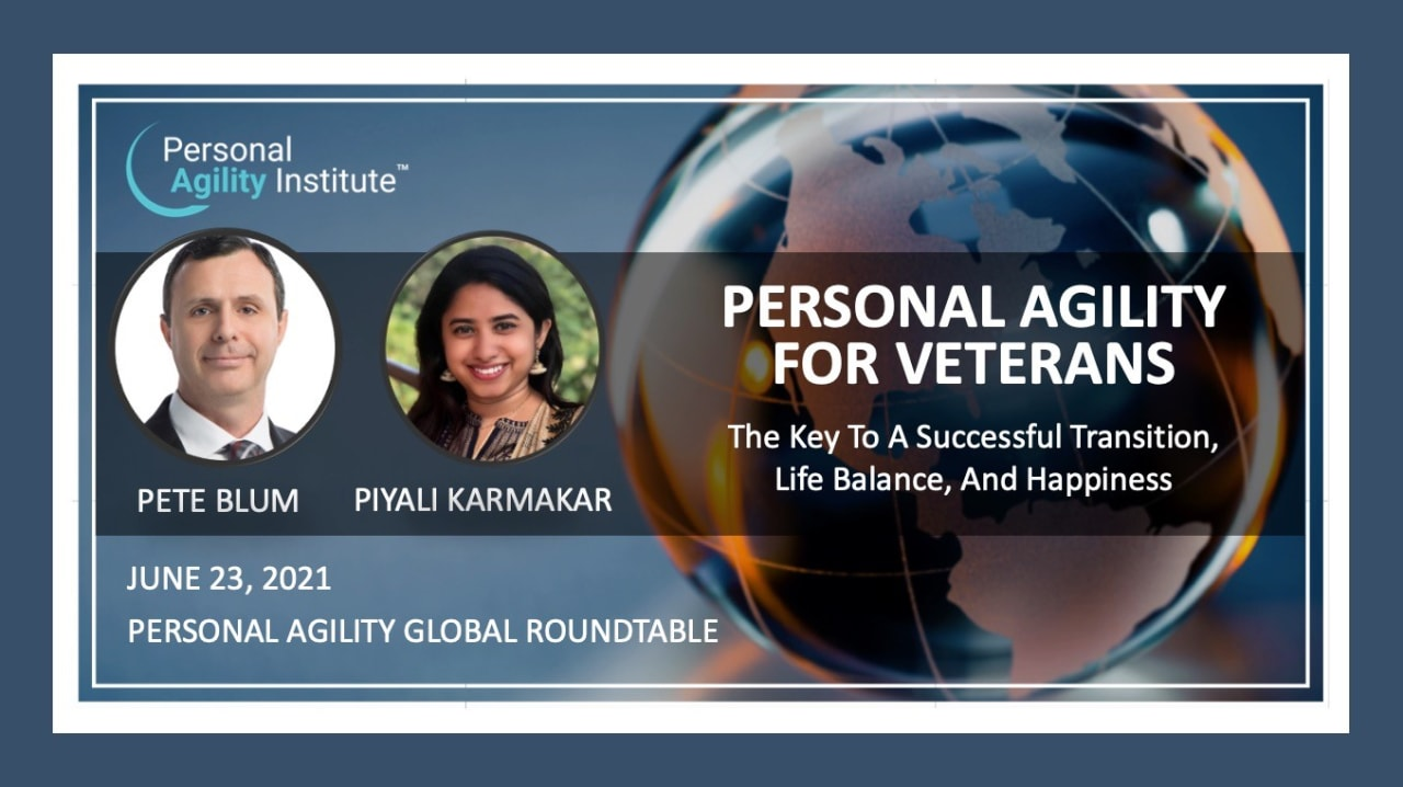Personal Agility For Veterans In Transition
