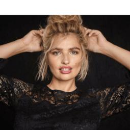 sheego gewinnt Model Sarina Nowak als Kampagnengesicht