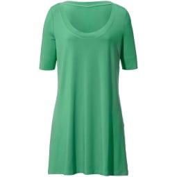 Jersey-Shirt 1/2-Arm Anna Aura grün