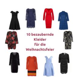 10 bezaubernde Kleider für die Weihnachtsfeier