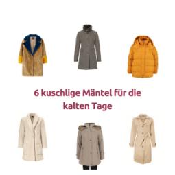6 kuschlige Mäntel für die kalten Tage