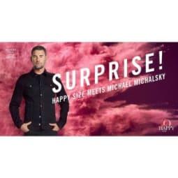 Happy Size wird 20 und holt sich Michael Michalsky