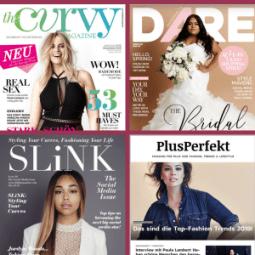 Magazine und Zeitschriften für Frauen mit Kurven