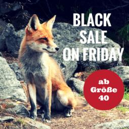 Black Sale on Friday für große Größen 2016