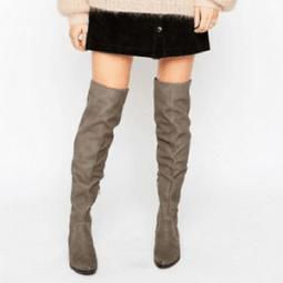Der treue Begleiter für kalte Tage: Der Overknee Stiefel