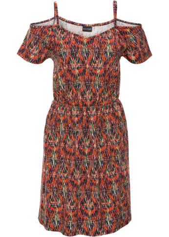 Jersey-Kleid mit Cut-Outs