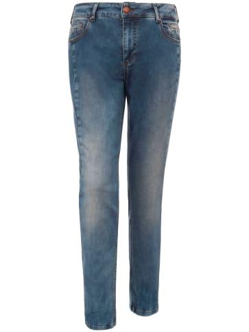 Slim-Jeans zizzi blau