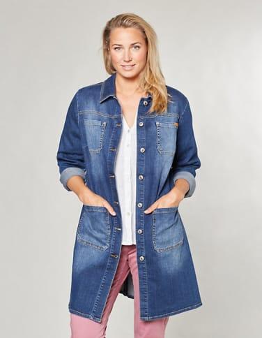 Jeans-Kurzmantel-Darinka Darinka, blau