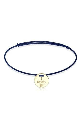 Elli Armband »WIESN TRACHT ´´I mog di´´ vergoldet«