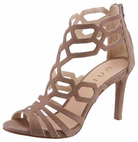 Unisa High-Heel-Sandalette, mit feinen Riemchen