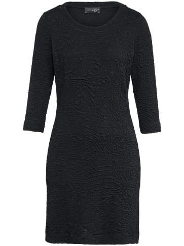 Jersey-Kleid 3/4-Arm Looxent schwarz