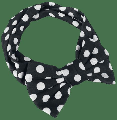 Rockabella Jolene Haarband schwarz/weiß