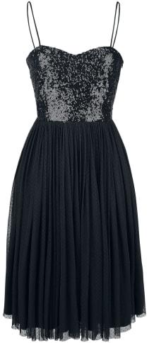 Banned Retro Love Midi Dress Kleid schwarz
