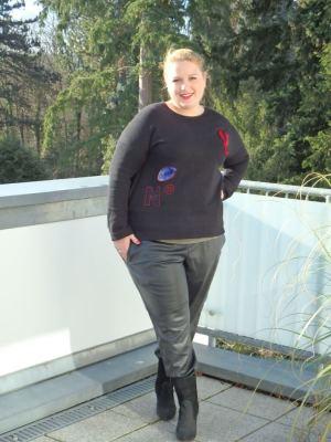 Rockiges Plus-Size-Outfit Franzis Blog Wundercurves