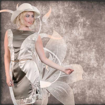Lace Dress Hose Mable AVIA Plus-Size-Kollektion Sommer Katja Heidrich
