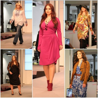 Fashion Walk Curvy Fashion Fair Anna Scholz for Sheego
