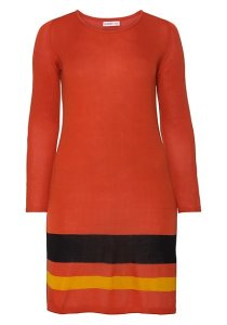 Strickkleid Colour Blocking