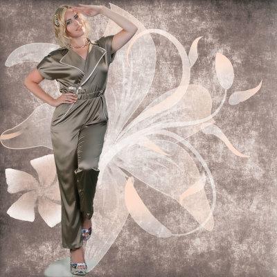 Jumpsuit Hose Mable AVIA Plus-Size-Kollektion Sommer Katja Heidrich