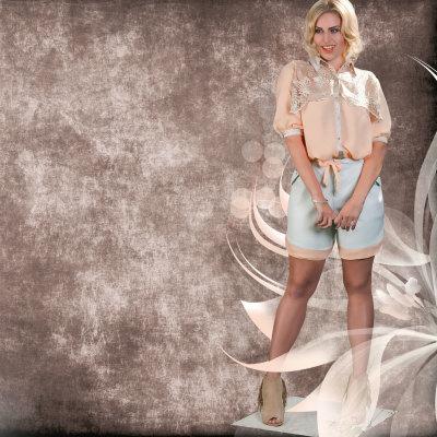 Bluse Mable AVIA Plus-Size-Kollektion Sommer Katja Heidrich